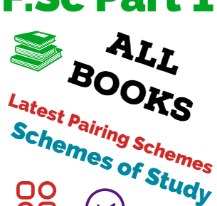 FSc first year all books scheme of studies