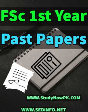 fsc first year past papers fi