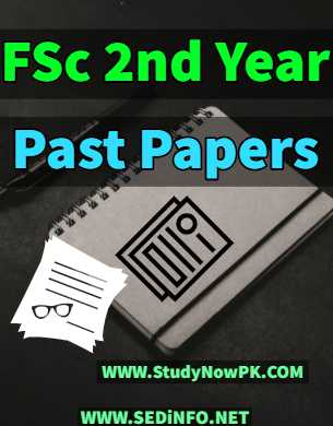 fsc second year past papers fi