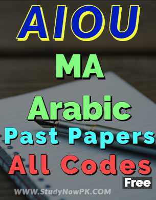 AIOU-MA-Arabic-Past-Papers-All-Codes-fi
