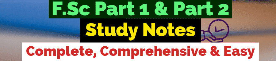 fsc part 1 & part 2 notes of all subjects