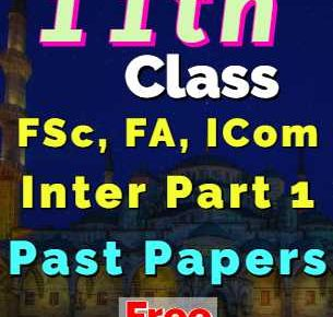 11th Past Papers fi